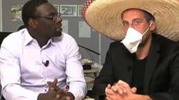 Reprise économique par Omar et Fred : Quelle reprise ? Omar (Professeur Bamoko) et Fred (Jean Salustre)