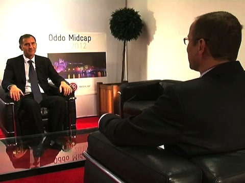 Interview de Guy Mamou-Mani Co-Président de Groupe Open au Forum Oddo Midcap 2012
