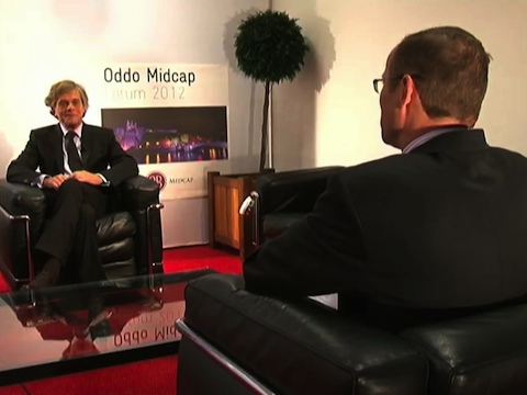 Interview d'Erick Rostagnat Directeur Général en charge des Finances Gl events au Forum Oddo Midcap 2012