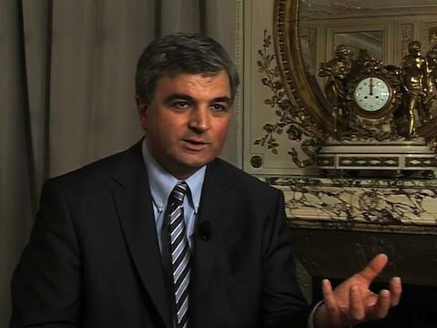 Louis Godron Président de l'AFIC (Association Française des Investisseurs pour la Croissance)