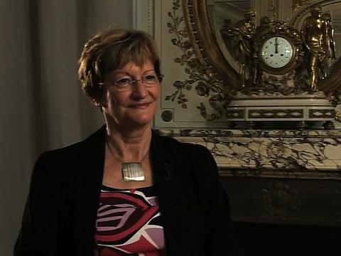 Nicole Notat Présidente de Vigeo