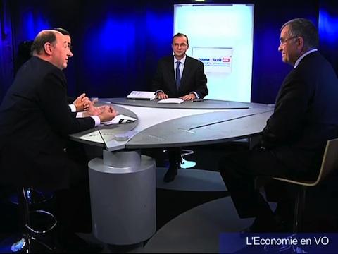 """Les entreprises et la Mondialisation, 1ère partie dans le Magazine TV """"L'Économie en VO"""" : Avec Xavier Fontanet (administrateur Essilor), Alexandre Kateb (économiste) et François Martin (consultant)"""