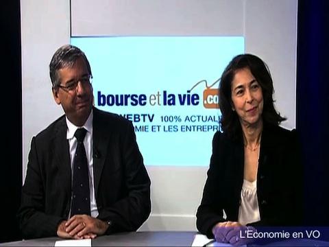 """Magazine TV """"L'Économie en VO"""" : Débat économique avec Maryse Aulagnon (Groupe Affine) et Pascal Imbert (Solucom) : 1ère partie"""