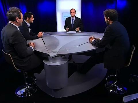 L'Économie en VO : Débat économique avec Georges Liberman Pdg Xiring et Eric Cohen Pdg Keyrus (1ère partie)