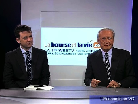 L'Économie en VO : Débat économique avec Régis Arnoux CIS Catering et Chris Connors HCL Technologies (1ère partie)