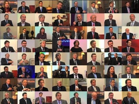 Zapping dirigeants sur la Web TV sur la stratégie et les résultats 2011 (Hologram, 1000mercis, Promeo, Robert Lafont)