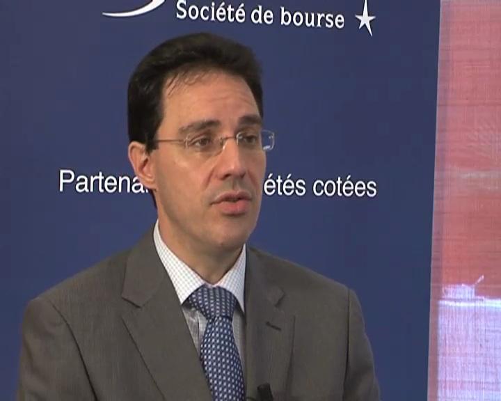 Jean-Yves Courtois Pdg Orolia sur les résultats semestriels 2010