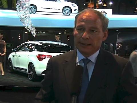 Interview de Frédéric Banzet Directeur de la marque Citroën au Mondial de l'Automobile 2012