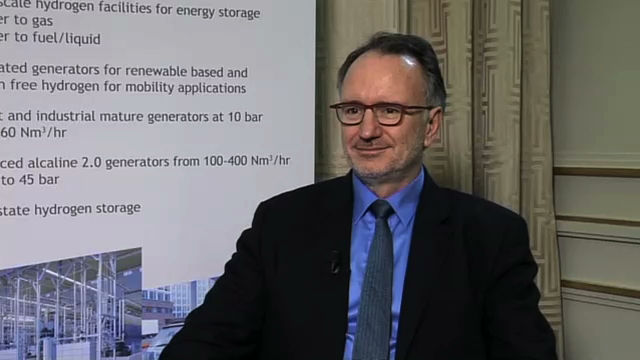 Interview Pascal Mauberger Président du Directoire McPhy Energy