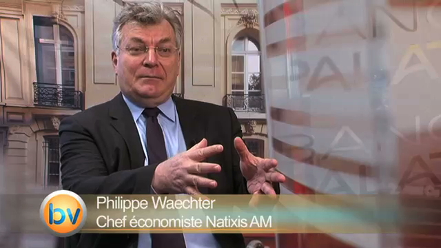 Economie France : La réaction de Philippe Waechter Chef économiste Natixis AM