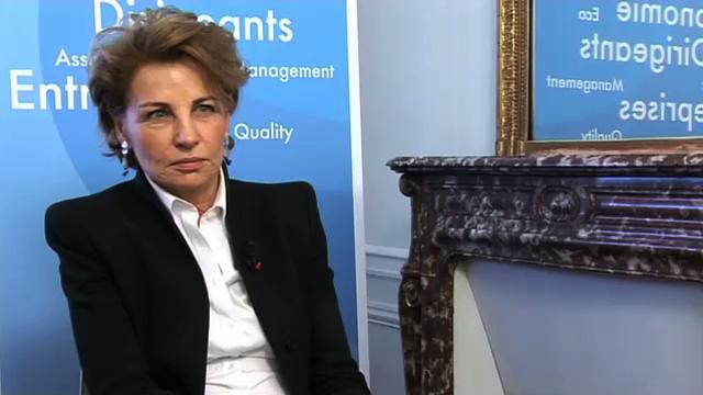 """Agnès Touraine Présidente de l'IFA : """"Les femmes dans les conseils, c'est une évolution normale"""""""