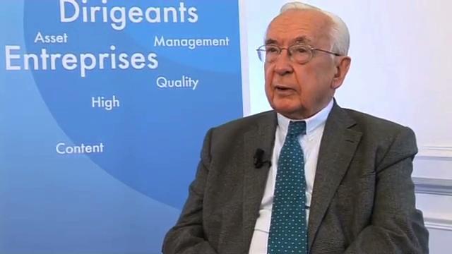 Jacques de Larosière Président d'Eurofi lance un cri d'alarme pour le financement des PME