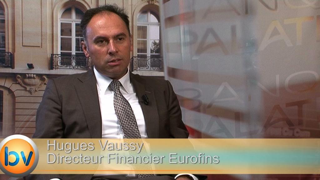 "Hugues Vaussy Directeur Financier Eurofins : ""Les perspectives restent positives"""