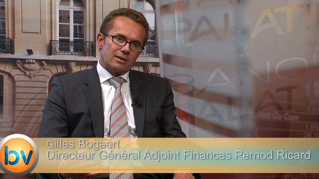 """Gilles Bogaert Directeur Général Adjoint Finances Pernod Ricard : """"En 2014/2015, on envisage un début d'amélioration en Chine"""""""