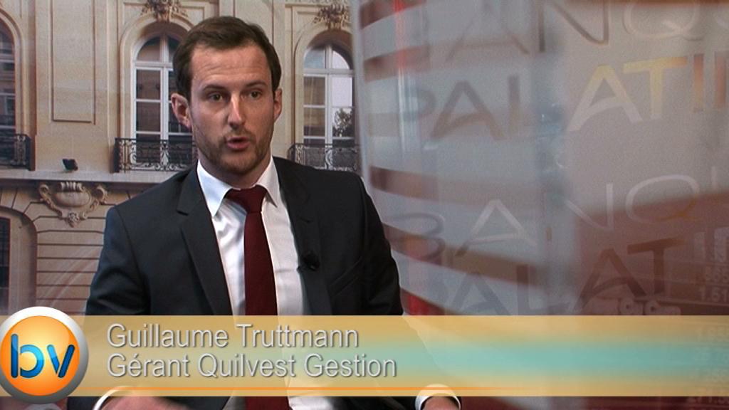 """Guillaume Truttmann Gérant Quilvest Gestion : """"La Fed pourrait remonter ses taux plus vite que prévu"""""""