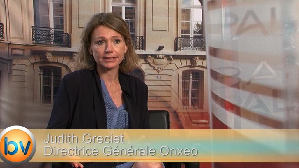 """Judith Greciet Directrice Générale Onxeo : """"La fusion nous permet d'avoir élargi notre portefeuille"""""""