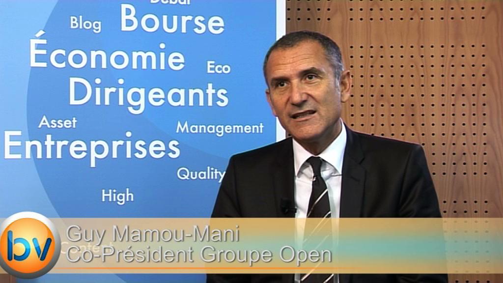 """Guy Mamou-Mani Co-Président Groupe Open : """"Nous sommes nous en totale forme pour nous préoccuper uniquement de notre croissance"""""""