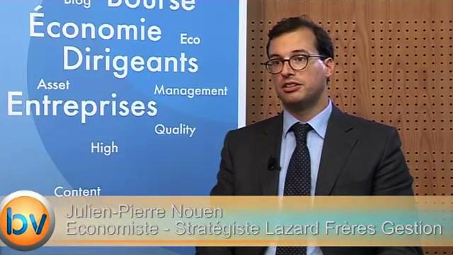 """Julien-Pierre Nouen Economiste – Stratégiste Lazard Frères Gestion : """"Plus favorable à la zone euro avec la parité euro-dollar"""""""