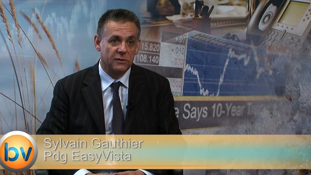 """Sylvain Gauthier Pdg EasyVista : """"À partir de 2015 on sera rentable aux Etats-Unis"""""""