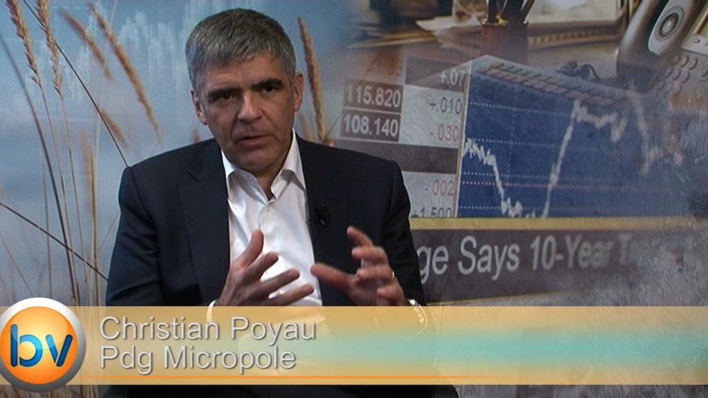 """Christian Poyau Pdg Micropole : """"La part du conseil doit devenir majoritaire"""""""