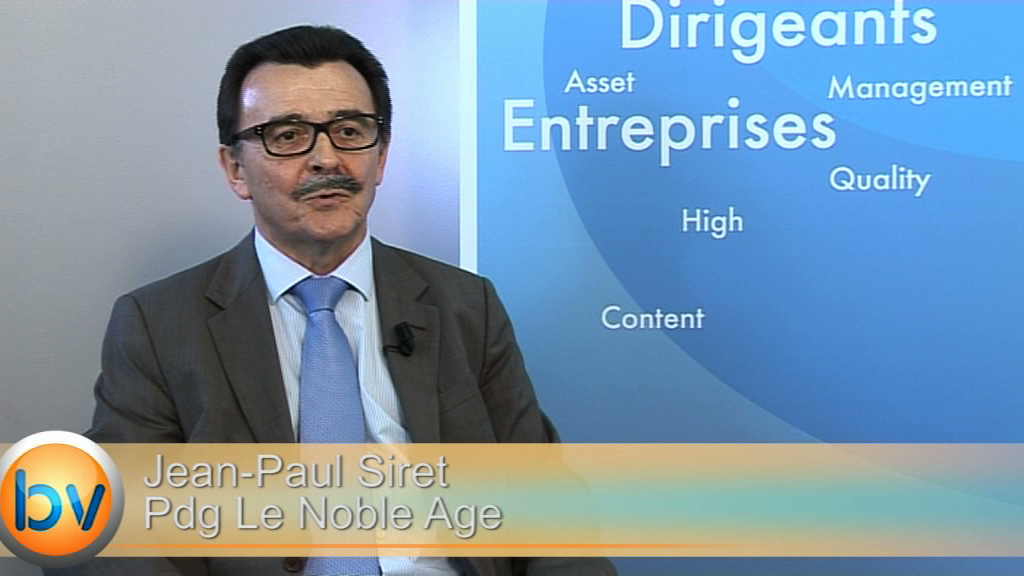 """Jean-Paul Siret Président Le Noble Age : """"Un changement de rythme de progression dans le groupe"""""""