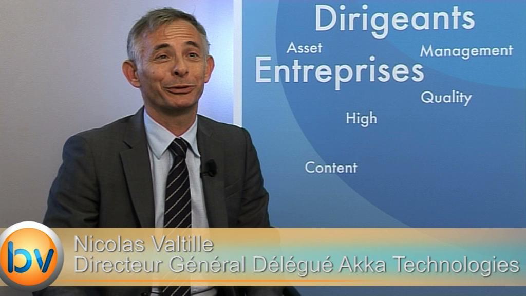"""Nicolas Valtille Directeur Général Délégué Akka Technologies : """"On va continuer à améliorer la rentabilité de l'Allemagne"""""""