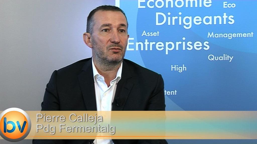 """Pierre Calleja Pdg Fermentalg : """"L'unité de production industrielle nous donnera de la visibilité"""""""