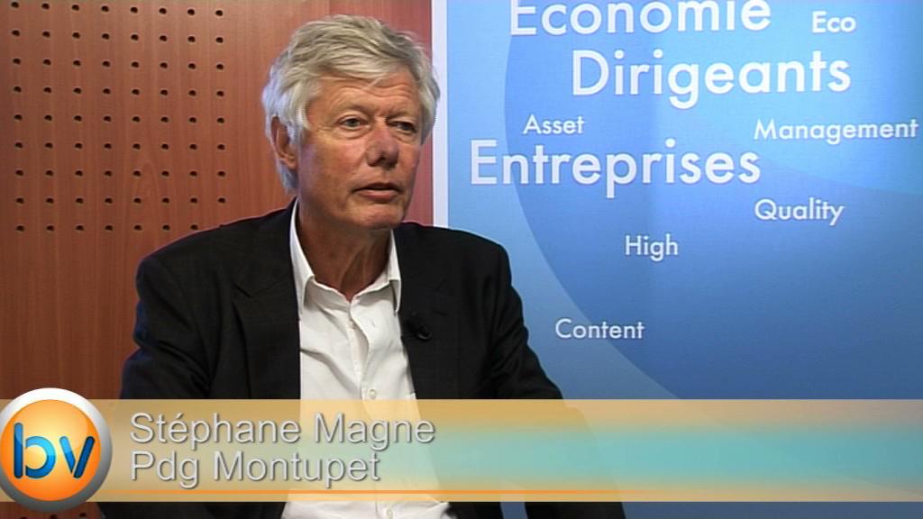 """Stéphane Magnan Pdg Montupet : """"Nous avons des réserves de croissance importantes"""""""