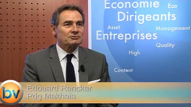 """Edouard Rencker Pdg Makheia : """"Nous serons en croissance sur l'ensemble de l'année"""""""