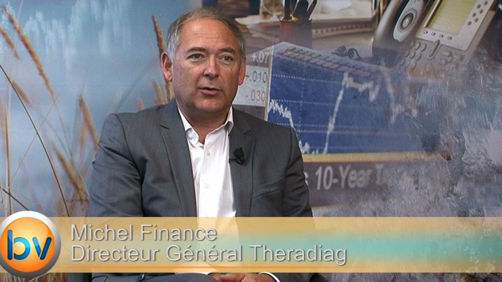 """Michel Finance Directeur Général Theradiag : """"Le financement ne sera utilisé que pour assurer le développement de la société"""""""