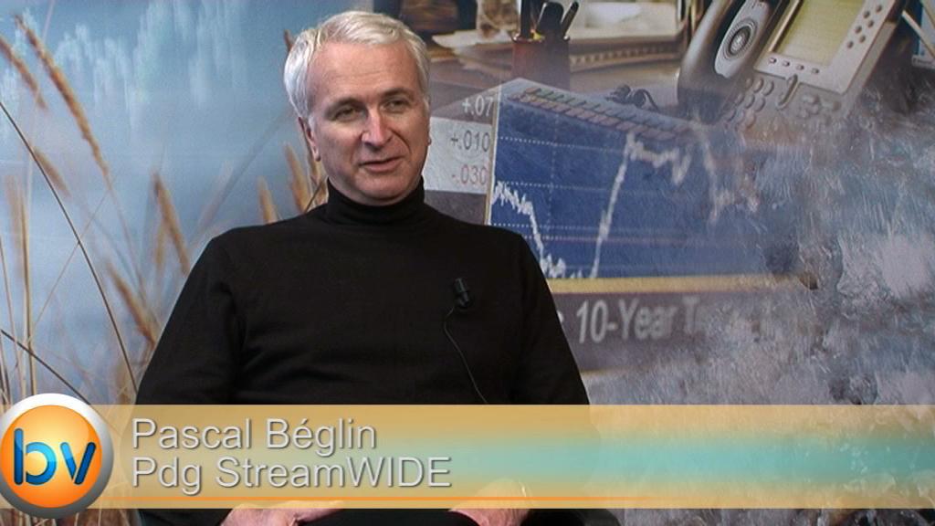 """Pascal Béglin Pdg StreamWIDE : """"Nouvelles activités de téléphonie sur IP nous donneront des relais de croissance"""""""