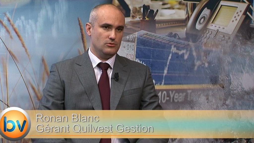 """Ronan Blanc Gérant Quilvest Gestion : """"La BCE cherche à tout prix à se démarquer de ce que fait la FED"""""""