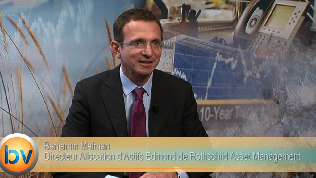 """Benjamin Melman Directeur Allocation d'Actifs Edmond de Rothschild Asset Management :""""La notion de resserrement des taux de la Fed n'est pas très bien pricée"""""""