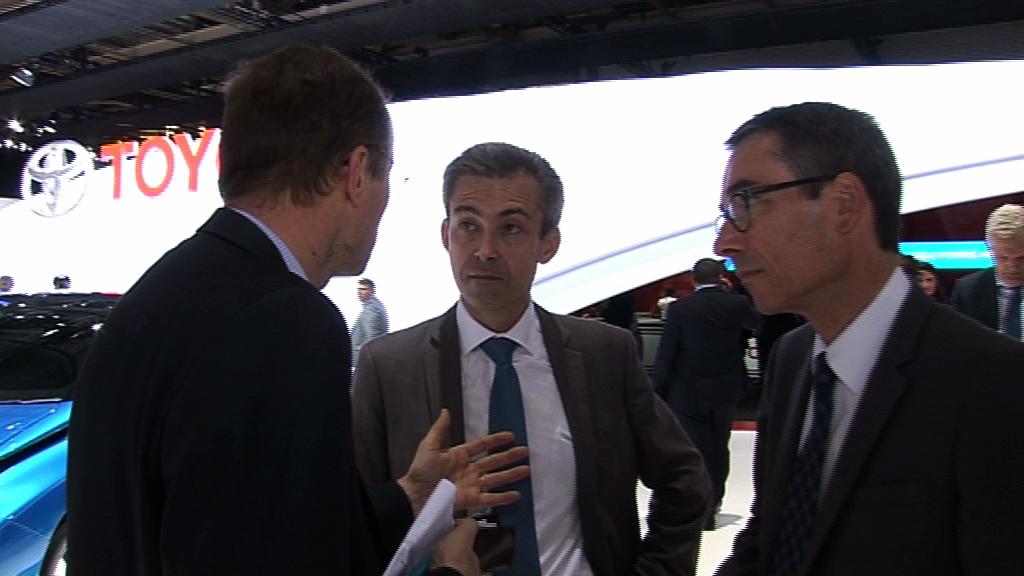 """David Schotkosky Directeur Ventes et Réseau Toyota France : """"Toyota a lancé cette année l'AYGO 2ème génération et la Yaris 2014 qui représentent 50% de notre volume de vente"""""""