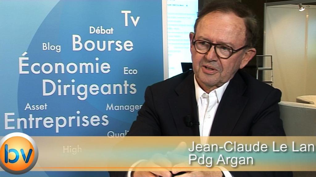 """Jean-Claude Le Lan Pdg Argan : """"Nous sommes dans notre plan de marche"""""""