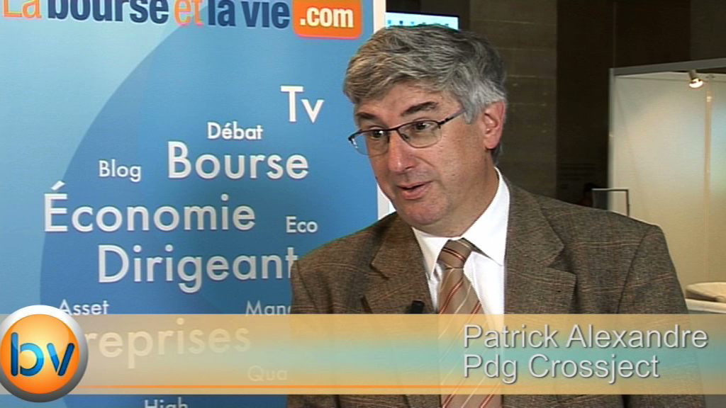"""Patrick Alexandre Pdg Crossject : """"Nous mettons en place nos moyens industriels"""""""