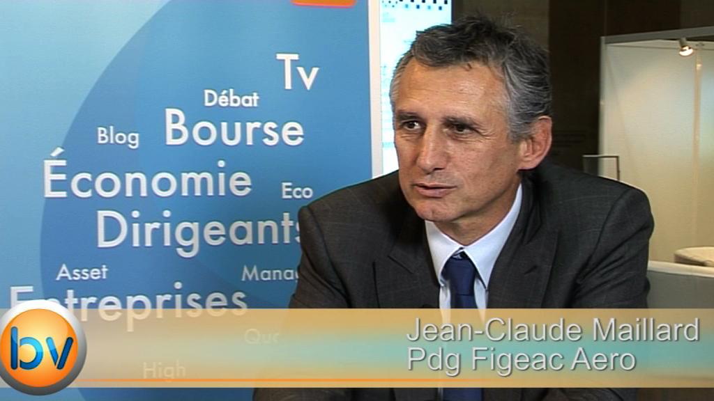 """Jean-Claude Maillard Pdg Figeac Aero : """"On est en période de forte croissance"""""""