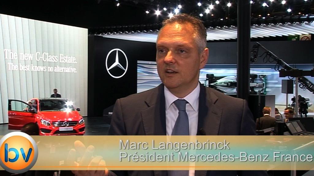 """Marc Langenbrinck Président Mercedes Cars France """"Nous sommes la marque la plus dynamique dans le premium"""""""