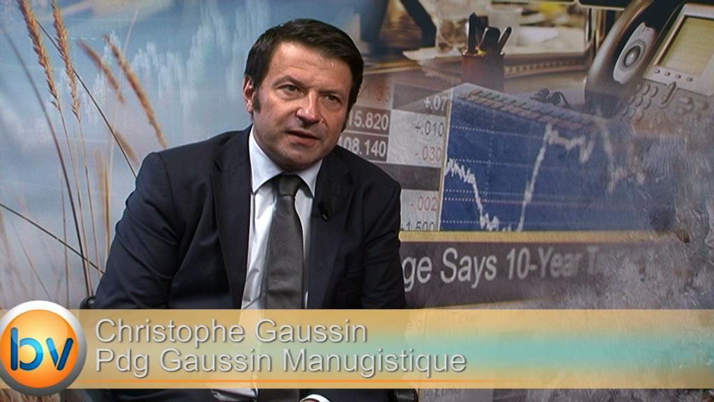 """Christophe Gaussin Pdg Gaussin Manugistique : """"L'automatisation est une réponse à l'augmentation de la productivité"""""""