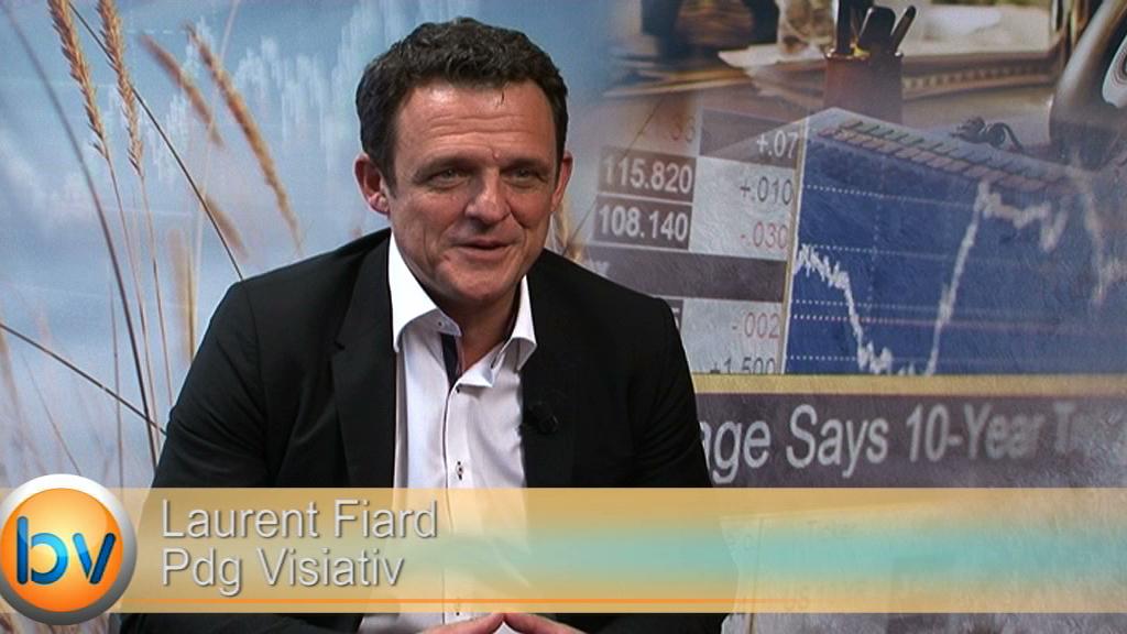 """Laurent Fiard Pdg Visiativ : """"Il y a une opportunité forte sur la transformation numérique"""""""