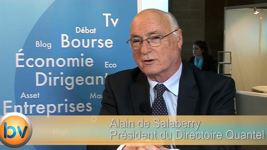 """Alain de Salaberry Président du Directoire Quantel : """"On continue d'investir sur la distribution de nos matériels aux Etats-Unis"""""""