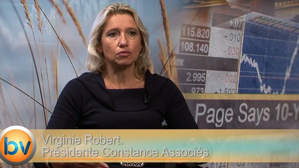 """Virginie Robert Présidente Constance Associés : """"l'impact de la hausse du dollar dans les résultats est pris en compte"""""""
