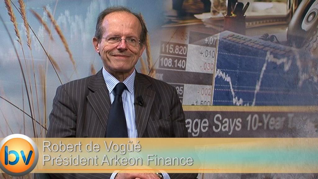 """Robert de Vogüé Président Arkeon Finance : """"Le PEA-PME c'est l'impossibilité absolue de se prémunir contre un risque de marché"""""""
