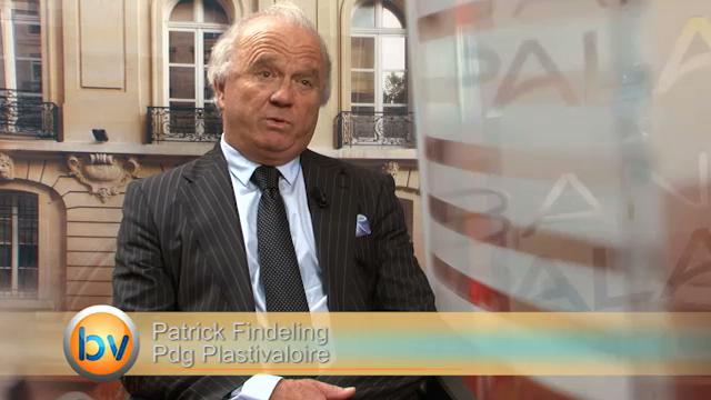 Patrick Findeling Pdg Plastivaloire : «Aujourd'hui nous sommes mieux positionnés»