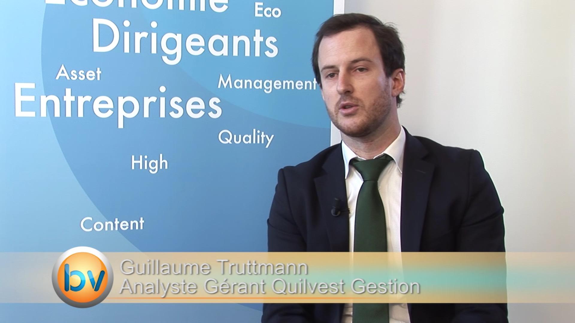 """Guillaume Truttmann Gérant Quilvest Gestion : """"Le scénario de hausse des taux US au second semestre 2015 reste d'actualité"""""""
