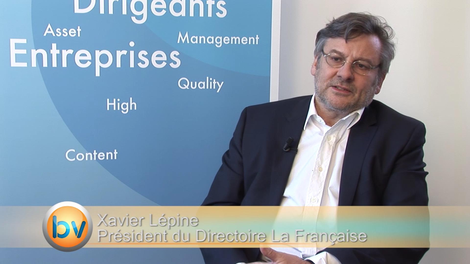 """Xavier Lépine Président du Directoire La Française : """"Des modèles économiques qui changent avec des agents économiques qui ne changent pas"""""""