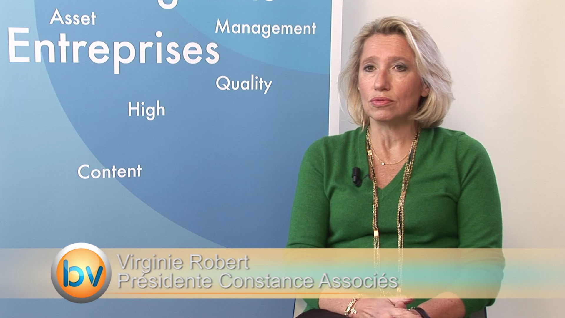 Virginie Robert Présidente Constance Associés : «Les chiffres sont plutôt bons sur les résultats des entreprises»