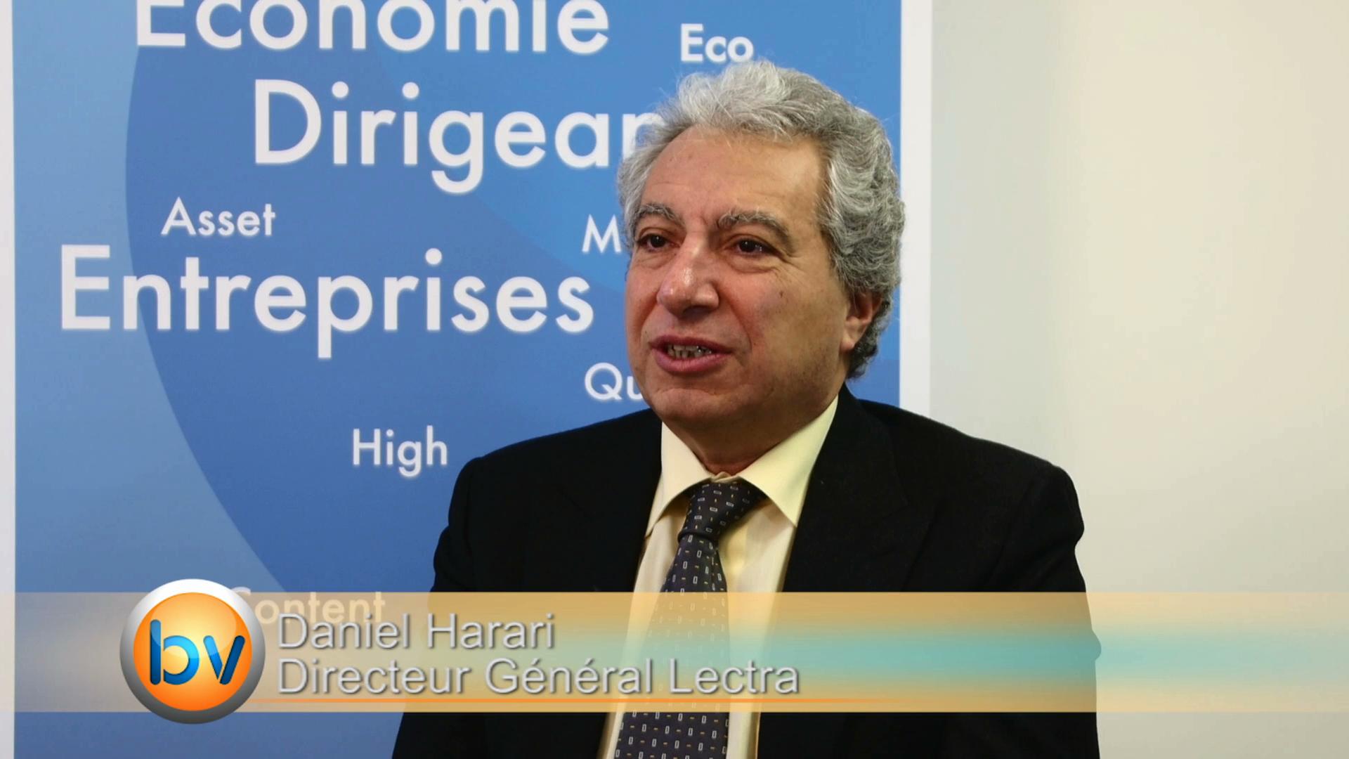 """Daniel Harari Directeur Général Lectra : """"On a fait une transformation en profondeur"""""""