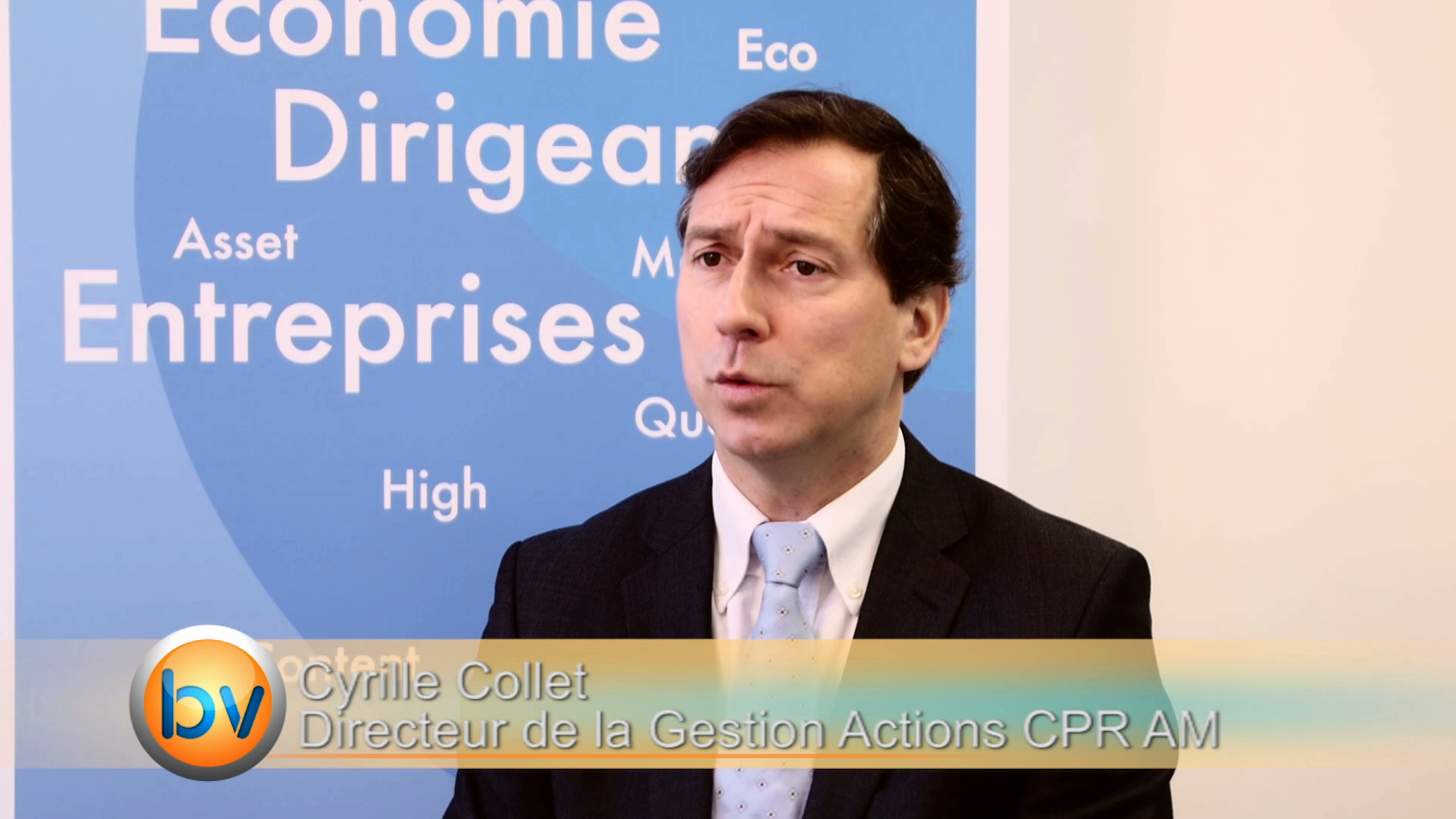 """Cyrille Collet Directeur de la Gestion Actions CPR AM : """"L'investissement dans une zone est beaucoup corrélée à l'évolution de la devise"""""""