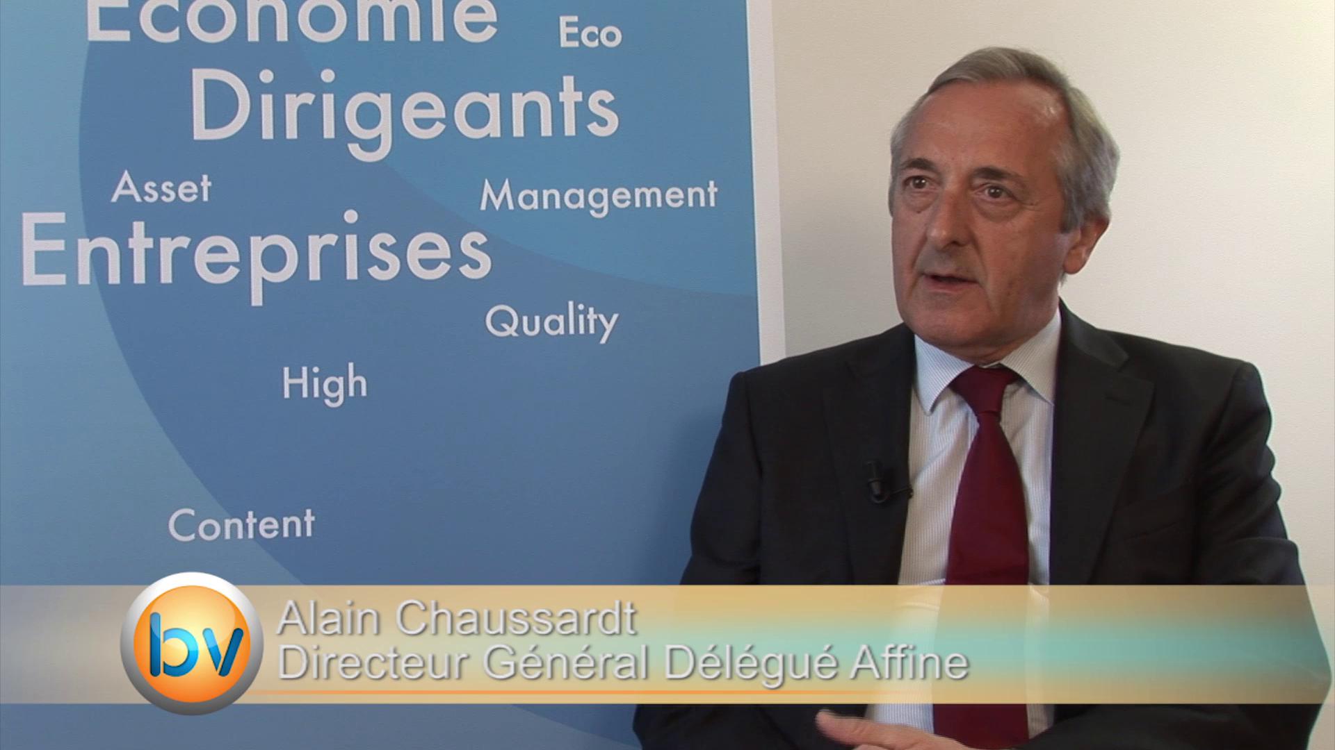 """Alain Chaussard Directeur Général Délégué Affine : """"Nous attendons une demande des investisseurs en 2015"""""""